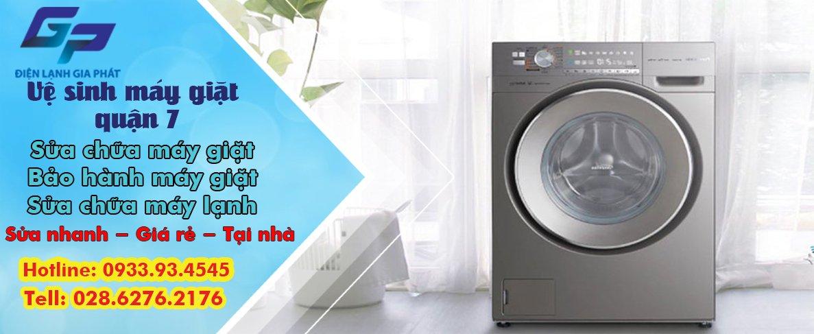 Vệ sinh máy giặt quận 7